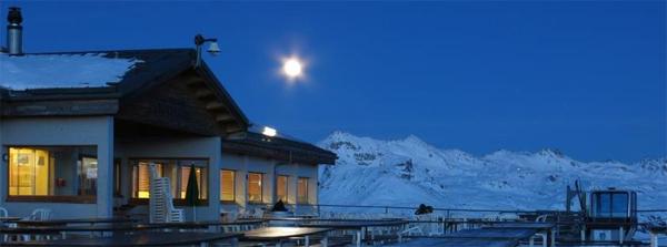 Soirée pleine lune au Crêt, 23février!